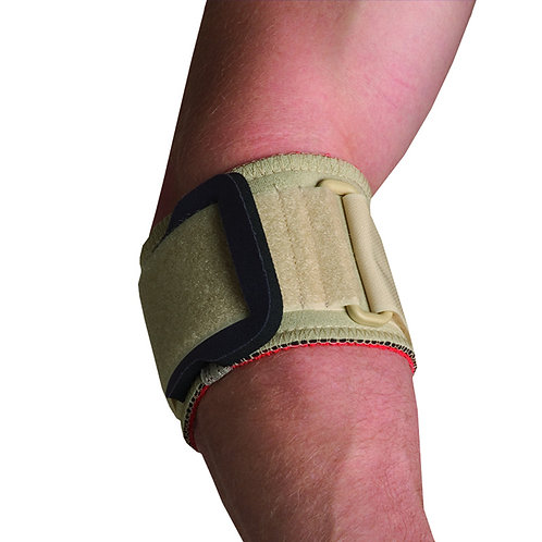 Thermoskin Tennis Elbow Strap w/ pad, Beige.
