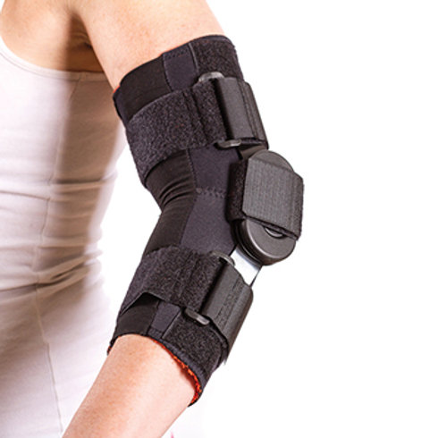 Thermoskin Flexion Extension Hinged Elbow, Black