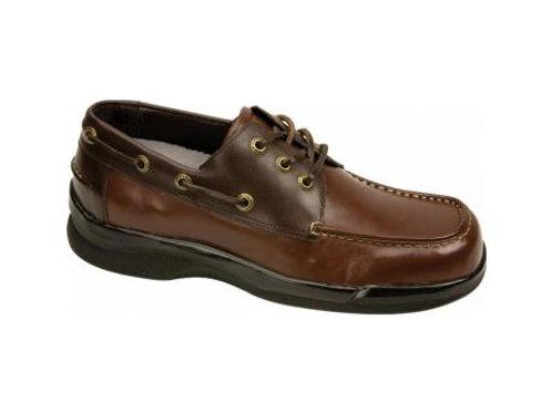 Men's Biomechanical Boat Shoe - Brown