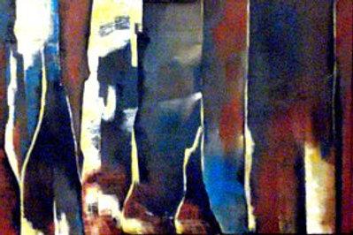 Sentinels  / Triptych 24H X 60W