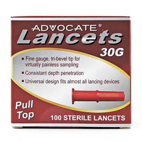 ADVOCATE Lancets pull-top,
