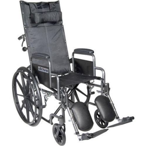 Silver Sport Full-Reclining Wheelchair