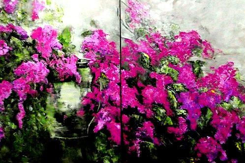 Floral Array 30H X 60W