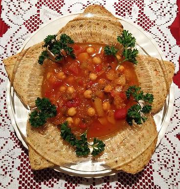 Mediterrean Chickpea Stew