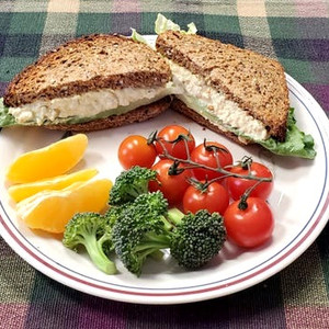 Eggless Salad Sandwich Filling