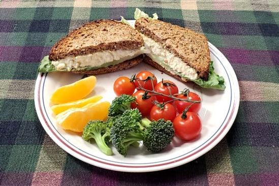 Relleno de Sandwich sin huevo