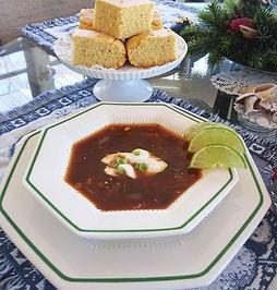 Sopa Cubana de Frijol Negro