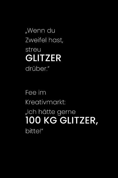GLITZER - 21x30