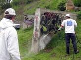 Pacific Pressure Washing graffiti remova