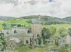 Stobo Church, Peeblesshire