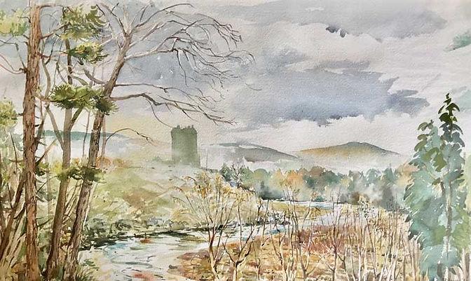 Neidpath Castle, Peebles