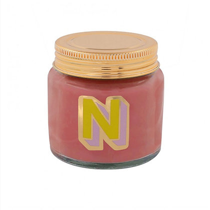 Mini Jar Candle - Letter N