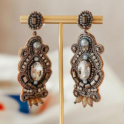 Gatsby Earrings - Silver