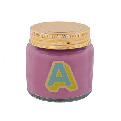 Mini Jar Candle - Letter A