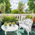 victorian courtyard garden design