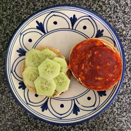 chorizo bagel