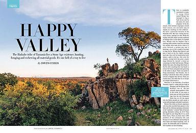 HAPPY VALLEY - THE HADZABE TRIBE OF TANZANIA