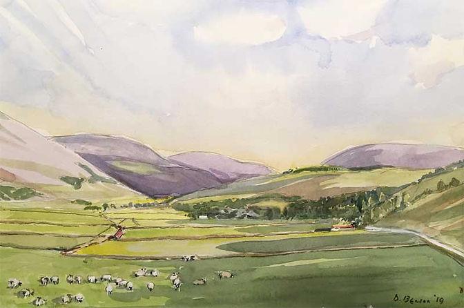 Woodhouse, Manor Valley, Peeblesshire