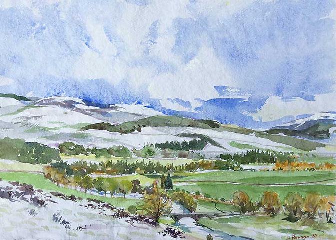 Tweed Valley in Snow