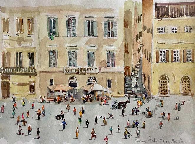 Piazza Santa Maria di Novella, Florence