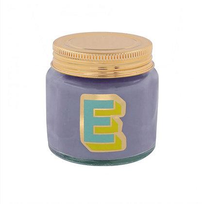 Mini Jar Candle - Letter E
