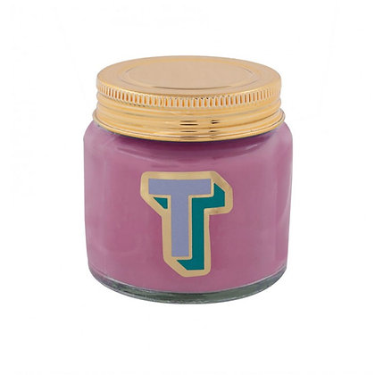 Mini Jar Candle - Letter T