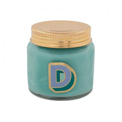 Mini Jar Candle - Letter D