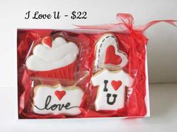 I Love U  $22
