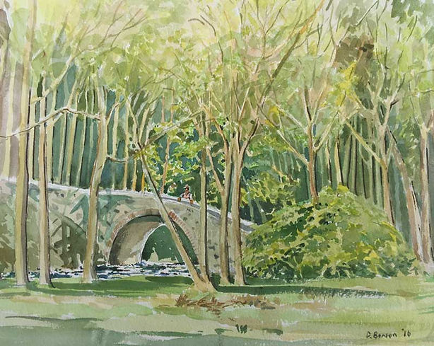 Old Manor Bridge, Peeblesshire