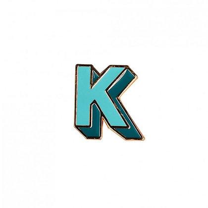 Enamel Pin - Letter K
