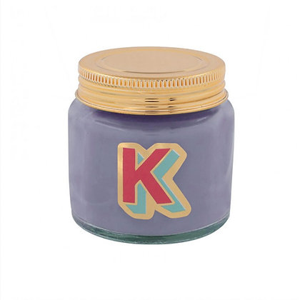Mini Jar Candle - Letter K
