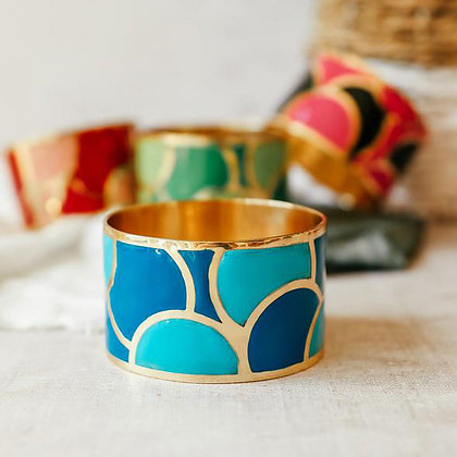 Bubble Bangle - Blue