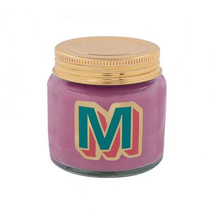 Mini Jar Candle - Letter M