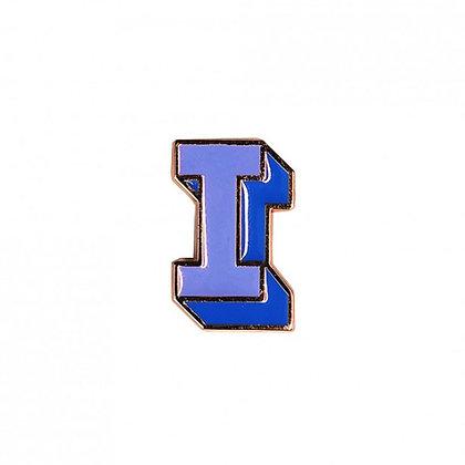 Enamel Pin - Letter I