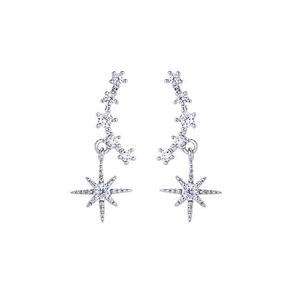 Arc Star Earrings