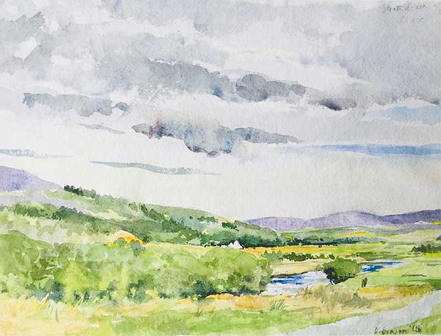 Upper Strathdearn on the Findhorn, Inverness-shire