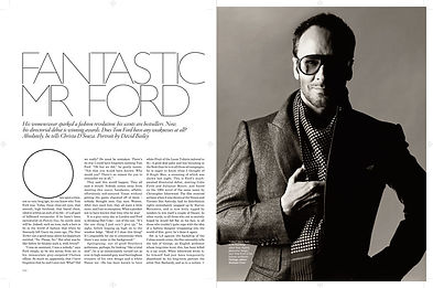 TOM FORD - -FANTASTIC MR FORD