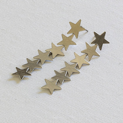 Silver Constellation Earrings