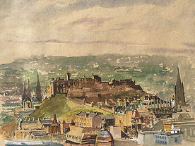 Vision of Edinburgh Castle