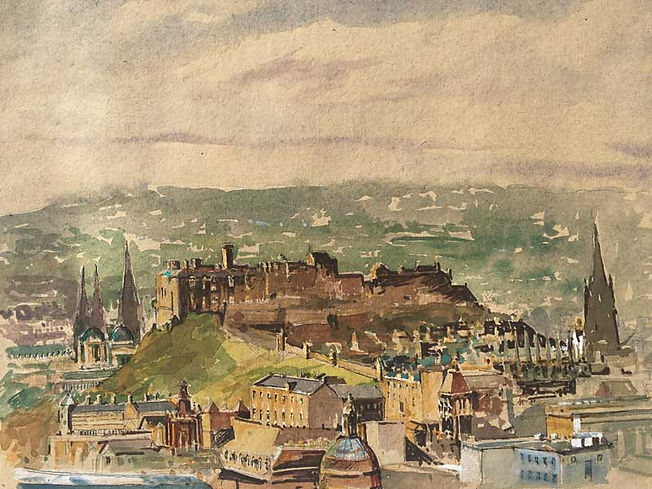 Vision of Edinburgh Castle