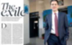 DAVID MILIBAND, THE EXILE