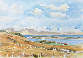 The Paps of Jura from Knapdale