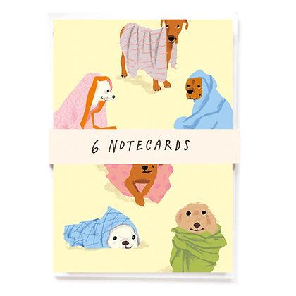 Dogs in Blankets x 6