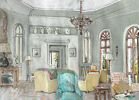 Bussento, The Drawing Room (1 of 2)