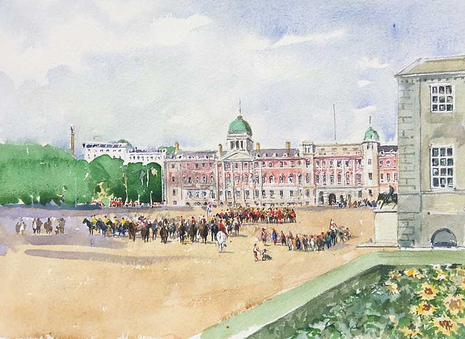Horse Guards Parade from Dover House (1)