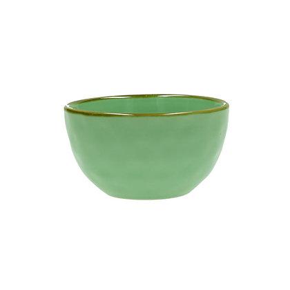 Italian Tiffany Green Bowl - Small