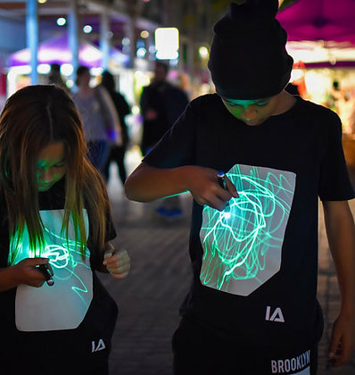 Glow In The Dark Interactive T-shirt