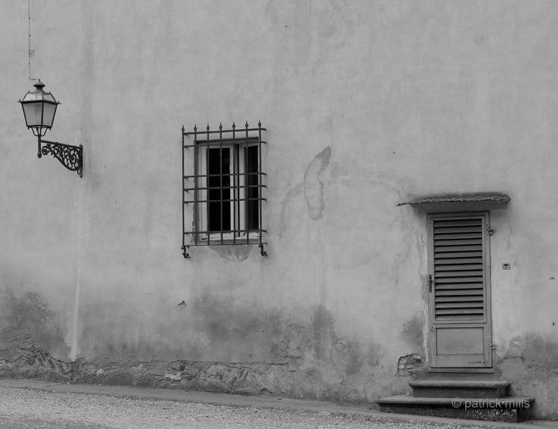lamp, window, door, florence