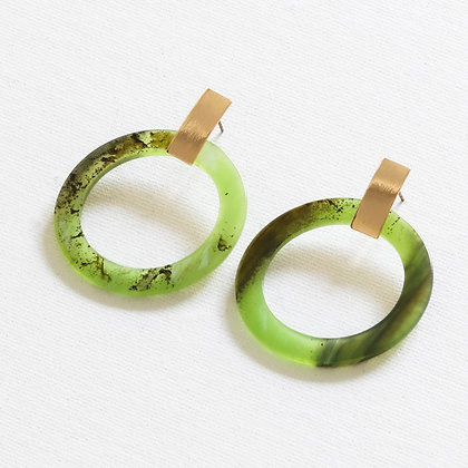 Florence Hoops - Green