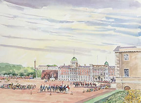 Horse Guards Parade from Dover House (2)
